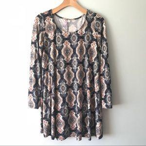 Dresses & Skirts - BOHO PRINT DRESS/TUNIC